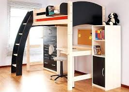 lit mezzanine noir avec bureau lit mezzanine 2 place lit mezzanine en bois 2 places lit mezzanine