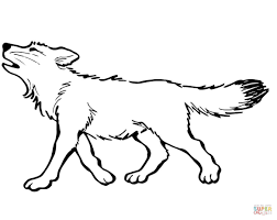 baby wolf coloring pages printable pictures 9743