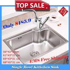 Fsus900 18bx by Standard Kitchen Sink Size Single Bowl Single Bowl Top Mount