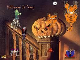 halloween desktop background garfield halloween wallpaper wallpapersafari