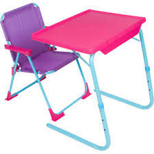 childrens folding table and chair set showtime childrens folding table and chair set purple 1 ebay