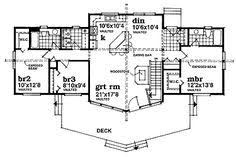 A Frame House Plans With Basement A Frame House Plan 99976 Total Living Area 3164 Would Be Good