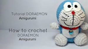 tutorial gambar kepala doraemon boneka rajut doraemon youtube