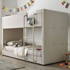 Tesco Bunk Bed Buy Happy Beds Saturn Fabric Bunk Bed Oatmeal 3ft Single