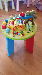 wooden activity table for baby wooden activity table table designs