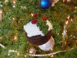 crocheted christmas planetjune by june gilbank christmas pudding