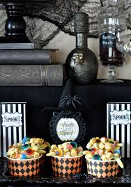 Halloween Apothecary Jar Ideas Witch Halloween Party Cauldron Pudding Make Life Lovely