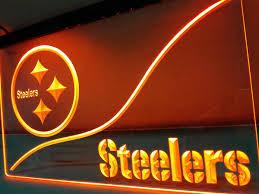 Neon Sign Home Decor Online Get Cheap Steelers Neon Light Aliexpress Com Alibaba Group