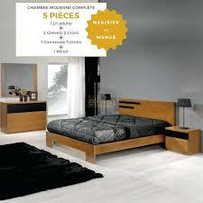 chambre adulte moderne pas cher chambre design adulte chambre adulte moderne 5 piaces merisier