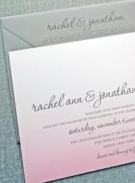 rachel pink ombre wedding invitation sample 2424203 weddbook