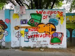 exploring austin art street art murals mosaics 2017 edition weapons of destruction mural