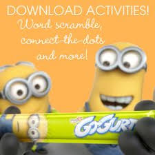 minion coloring sheets and activities from www sproutonline com