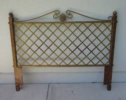 Iron And Wood Headboards Queen Headboard Etsy