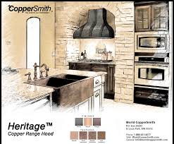 Kitchen Range Hood Designs Copper Range Hood Designs Coppersmith
