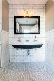 get the look kohler brockway sinks trough sink grey grout and