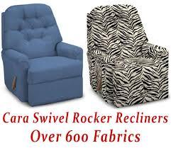 Swivel Rocker Recliner Cara Swivel Rocker Recliner