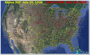 Map Of New Jersey And Pennsylvania by July 10 1936 U2013 Hottest Day On Record In Maryland Pennsylvania