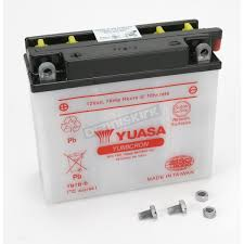 yuasa yumicron high powered 12 volt battery yb7b b atv u0026 utv