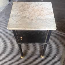 industrial tables for sale small industrial table with marble top for sale at pamono