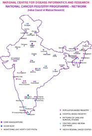 Bhopal India Map by National Cancer Registry Programmme