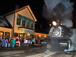 christmas traditions from coast to coast polar express train