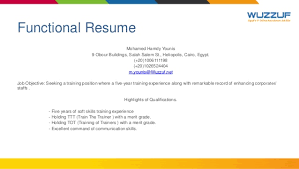 career guidance resume writing and interview skills