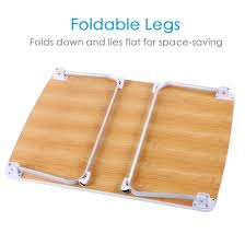 Folding Bed Table Review The Superjare Bed Table Portable Laptop Stands