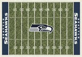 Seahawks Shower Curtain Milliken Area Rugs Nfl Home Field Rugs 01084 Seattle Seahawks