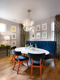 banquette with round table round banquette houzz