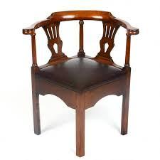mahogany armchair sheridan oliver interiors