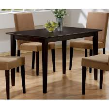 Cappuccino Dining Room Furniture Coaster Furniture 100491 Mix And Match Dining Table In Cappuccino