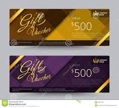 gift voucher coupon template design for special time coupon temp