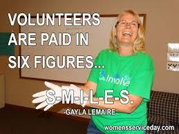 Volunteer Meme - national volunteer month women s service day