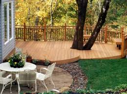 cedar small backyard deck designs great small backyard deck