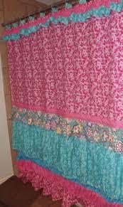 Cynthia Rowley Ruffle Shower Curtain Amazon Com Dainty Home Venezia Ruffled Shower Curtain 72 By 72