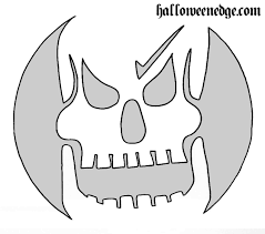 Free Printable Scary Halloween Pumpkin Stencils by Pumpkin Carving Patterns