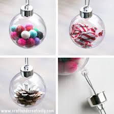 diy ornaments of plastic baubles shelterness