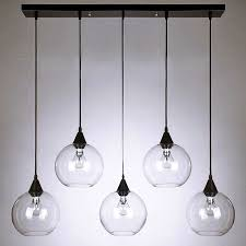 Best Lights For A Kitchen by Incredible Clear Glass Pendant Lights Pendant Lights For A Kitchen