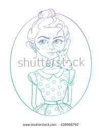 vector illustration dress rat pet stock vector 405557824