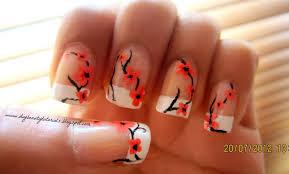 orange nail design choice image nail art designs