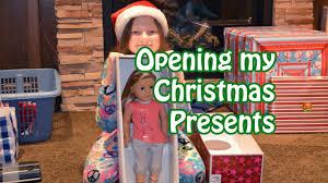 opening christmas presents 2014 american u0026 more bethany g