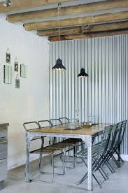 Interior Corrugated Metal Wall Panels Corrugated Metal In Interior Design Mountainmodernlife Com