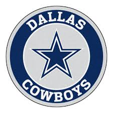 Dallas Cowboys Drapes by Nfl Dallas Cowboys Roundel Mat Products Pinterest Nfl