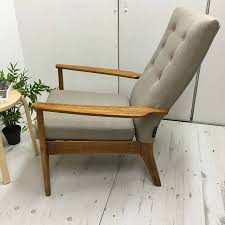 Retro Accent Chair Armchair Vintage Green Chair Retro Sofa Chair Retro Lounge