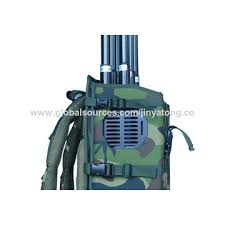 how high is 150 meters china backpack signal jammer high power output up to 150 meters on