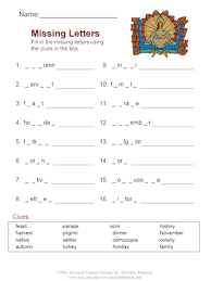 thanksgiving vocabulary free esl worksheet set