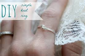 a knot ring simple diy knot ring diary of a mad crafter