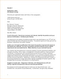 Application Letter Inside Address Small Business Banker Cover Letter