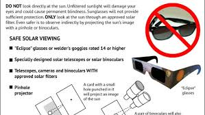 How People Go Blind How To Safely Observe The Sun Infographic