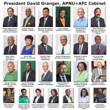 Members Of British Cabinet Guyana U0027s Coalition Government U2013 Ministers And Ministries
